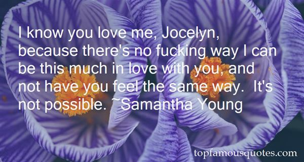 Quotes About In Love With You