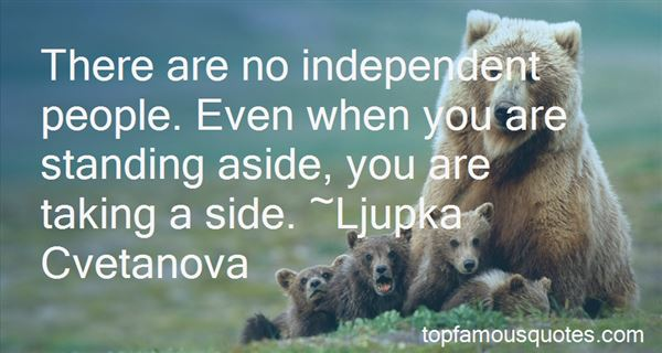 Quotes About Independent People
