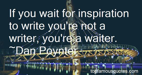 Quotes About Inspiration To Write