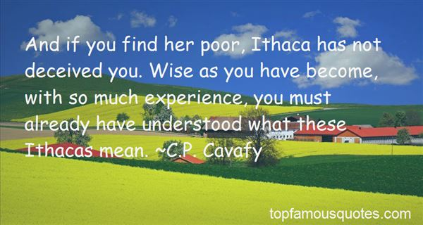Quotes About Ithaca Ny