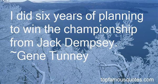 Quotes About Jack Dempsey