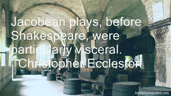 Quotes About Jacobean Era