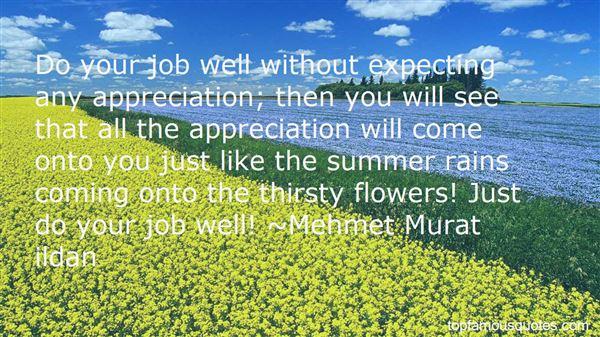 Quotes About Job Appreciation