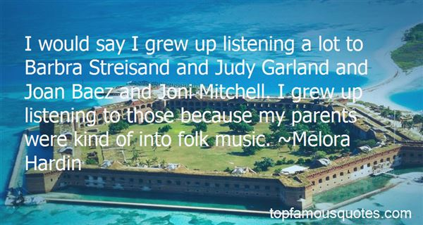 Quotes About Joni Mitchell