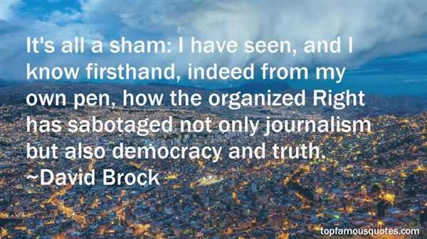 Quotes About Journalism And Democracy