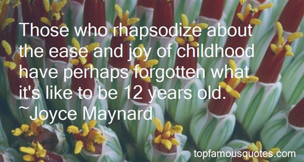Quotes About Joy And Childhood