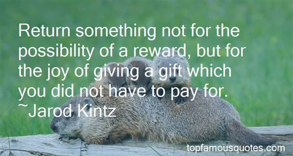 Quotes About Joy Of Giving