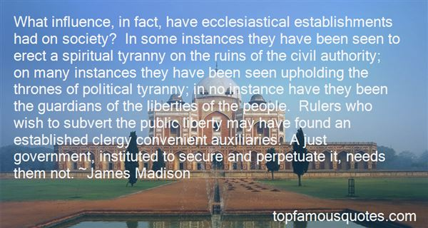 Quotes About Just Government