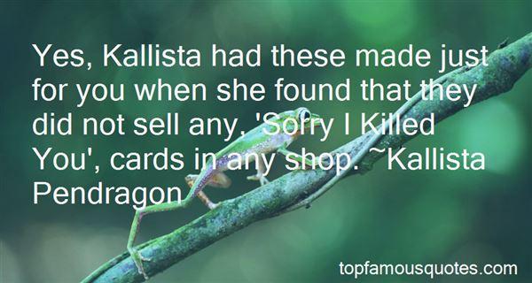 Quotes About Kallis