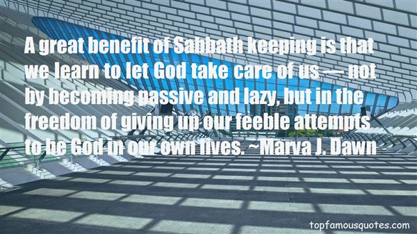 Quotes About Keeping The Sabbath