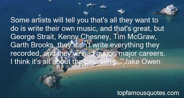 Kenny Chesney Quotes: best 1 famous quotes about Kenny Chesney