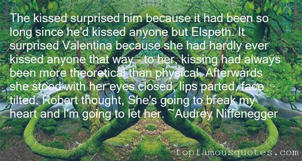 Quotes About Kissing On The Lips