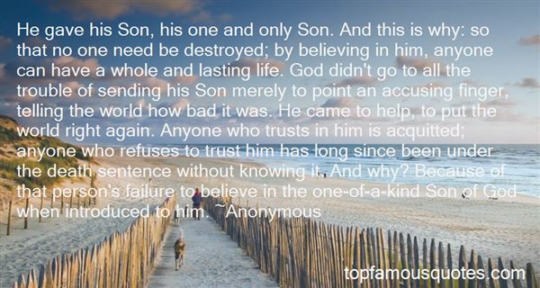 Quotes About Knowing Who God Is