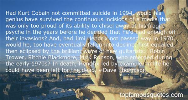 Quotes About Kurt Barlow