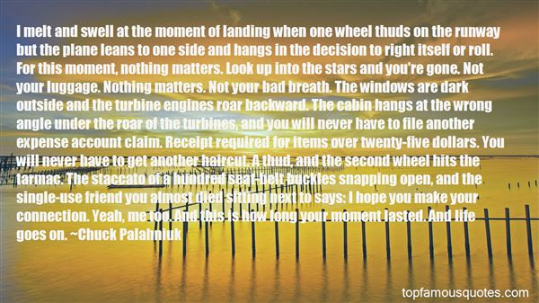 Quotes About Landing A Plane