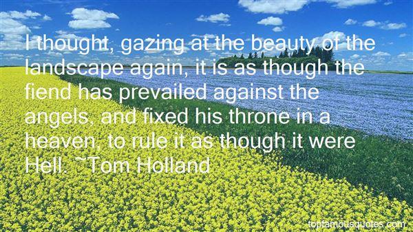 Quotes About Landscape Beauty
