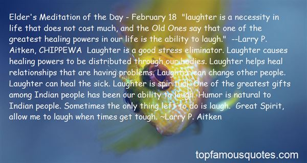 Quotes About Laughter And Stress