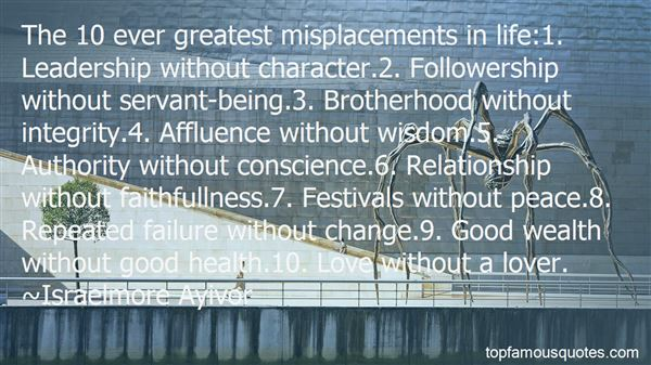 Quotes About Leadership And Failure