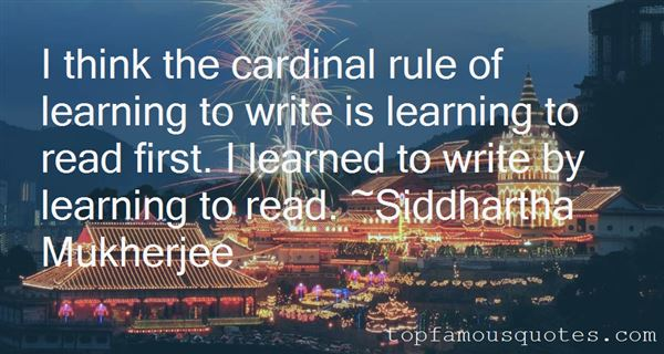 Quotes About Learning To Read And Write