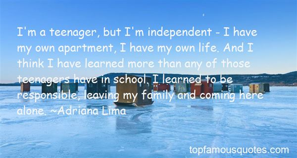 Quotes About Leaving My Family