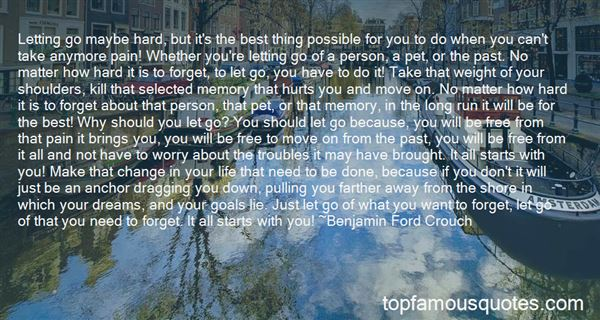 Quotes About Letting Go Of Worry
