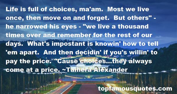 Quotes About Life Is Full Of Choices