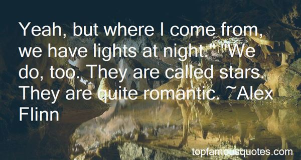 Quotes About Lights At Night