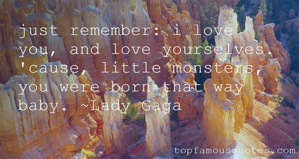 Quotes About Little Monsters