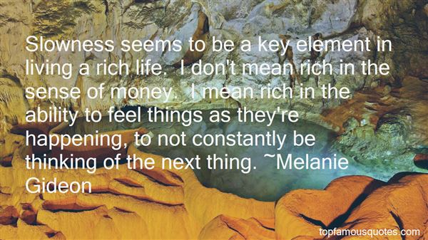 Quotes About Living A Rich Life