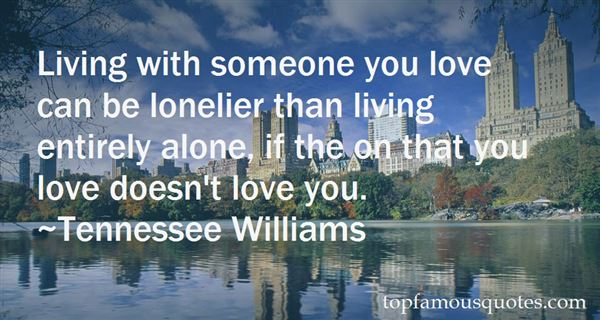 Quotes About Living With Someone You Love