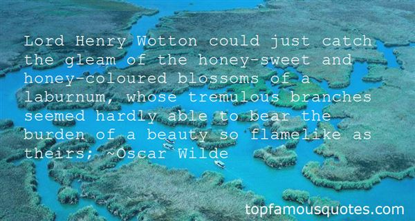 Quotes About Lord Henry Wotton