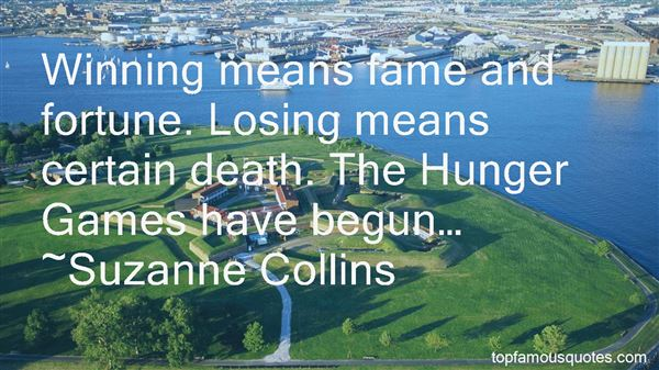 Quotes About Losing Games