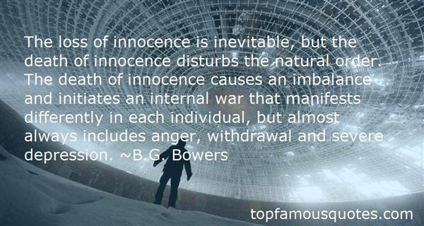 Quotes About Loss Of Innocence In War