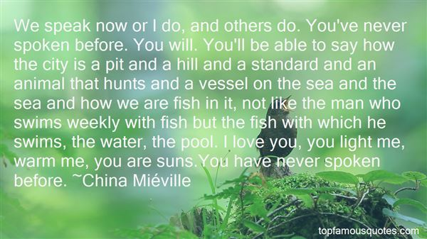 Quotes About Love Fish In The Sea