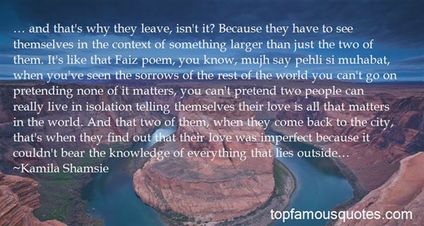 Quotes About Love Is All That Matters
