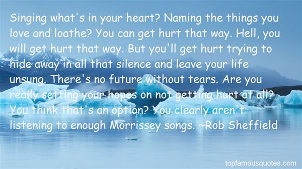 Quotes About Love Morrissey