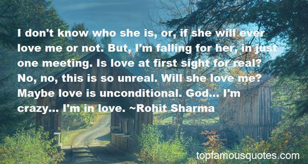Quotes About Love On First Sight