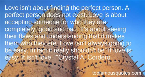 Quotes About Love Perfect Person
