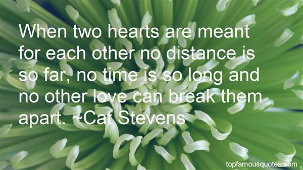 Quotes About Love Time And Distance