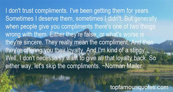Quotes About Loyalty And Trust