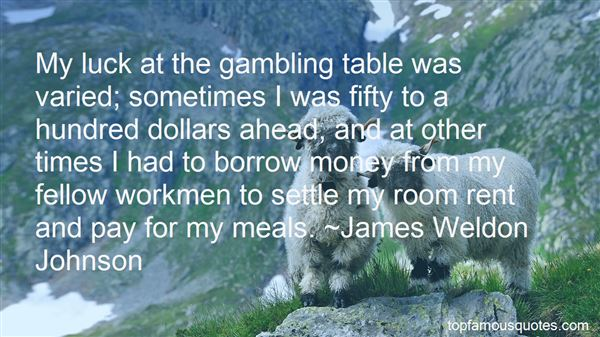 Quotes About Luck And Gambling
