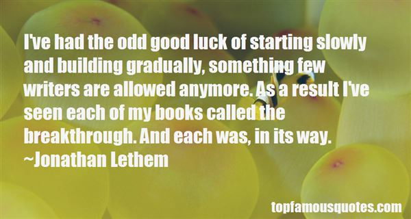 Quotes About Luck Goodreads
