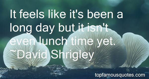 Quotes About Lunch Time