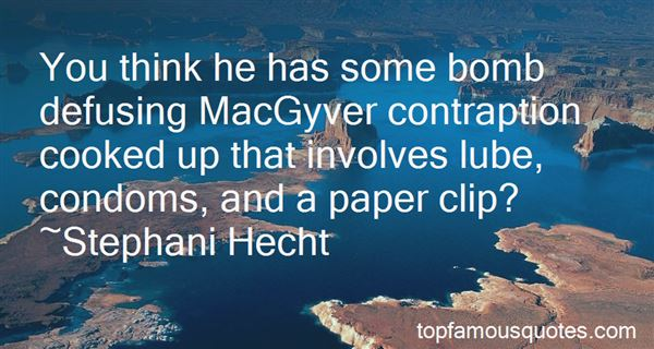 Quotes About Macgyver