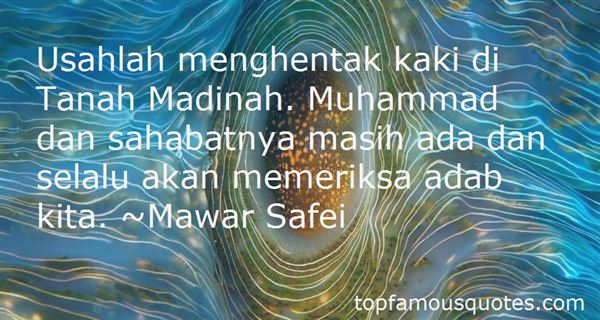 Quotes About Madina