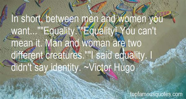 Quotes About Man And Woman Equality