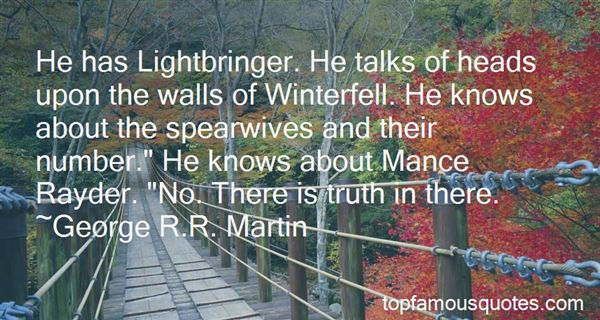 Quotes About Mance Rayder
