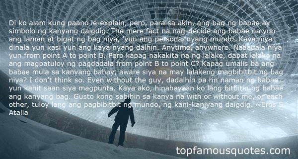 Quotes About Manlolokong Lalake Tagalog