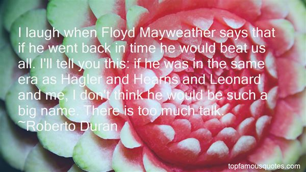 Quotes About Mayweather And Pacquiao