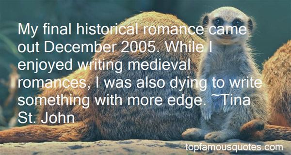 Quotes About Medieval Romance